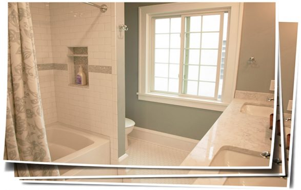Relaxing Cleveland Heights Bathroom Remodel