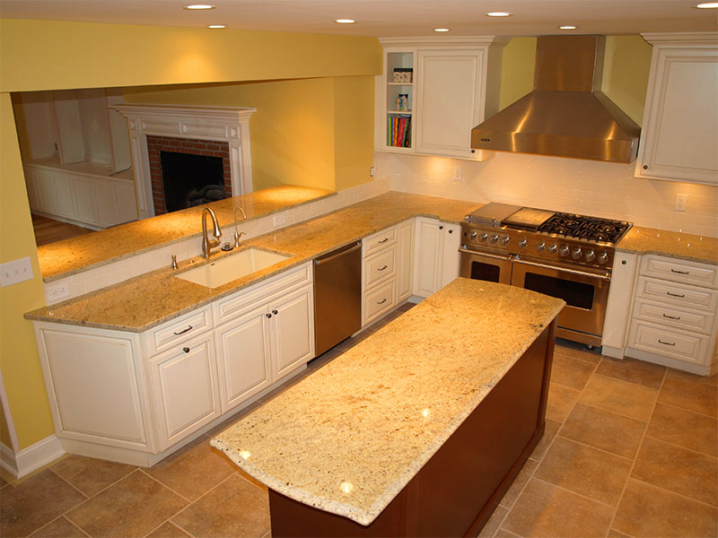 Dream Kitchen Remodel Before And After Photos Performed By The Skilled Artisans Of Beard Group In University Heights Ohio