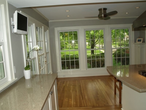 Kitchen Remodel, Custom countertops, Cleveland Hts., OH