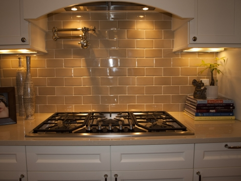 A timeless backsplash.