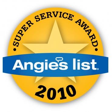 Super Service Award Winner 2010