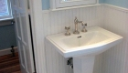 Updated Bathroom remodel with modern fixtures.