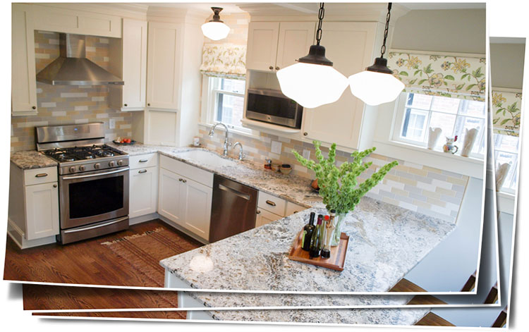 Bright And Cheerful Cleveland Heights Kitchen Remodel