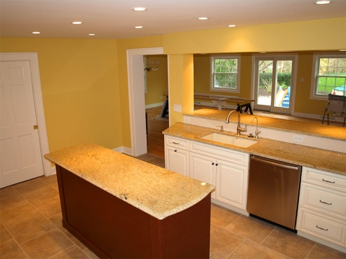 Finished product of another expert kitchen remodel by The Beard Group.