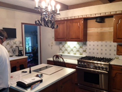 Shaker Heights Kitchen Renovation Before