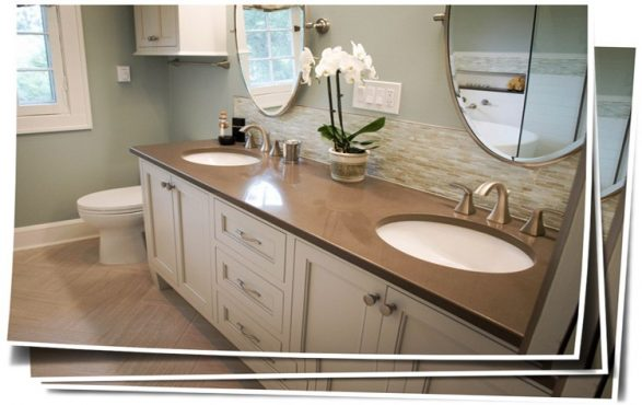 Shaker Heights Transitional Master Bath Remodel