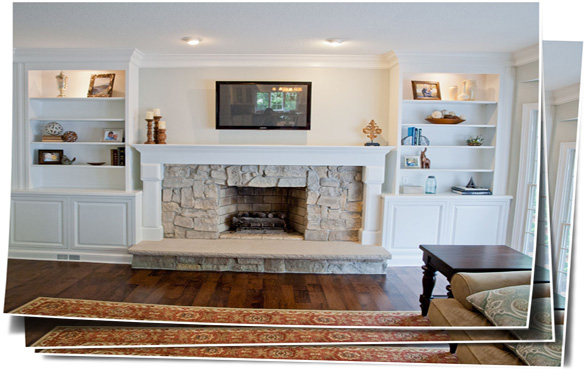 Solon Fireplace Remodel