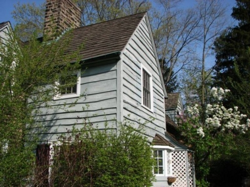 Exterior Siding in desperate need of repair by The beard group in Shaker Heights, OH