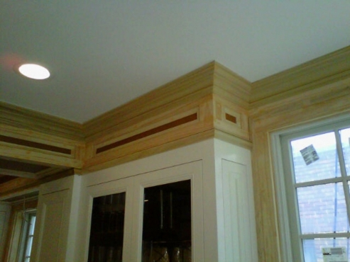 Beautiful attention to detail by The Beard Group carpenters.