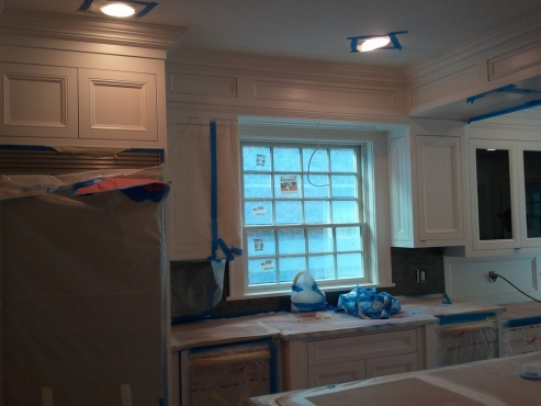 Custom woodwork provides a personalized look that only this kitchen will have.
