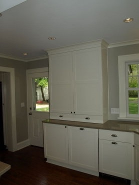 Custom kitchen cabinetry installation, Full Kitchen Remodel, Cleveland Heights, OH