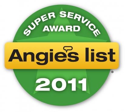 Super Service Award Winner 2011