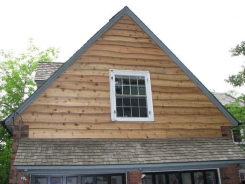 The Beard Group focuses on the details when installing siding on this Shaker Hghts. OH home